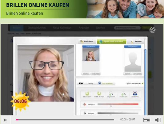 Brillen online kaufen auf Sat1
