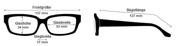 Brillengroessen auf einen Blick erklaert